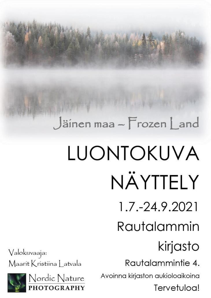 Maarit Latvala valokuvanäyttely kirjastolla