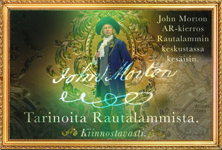 John Morton AR-kierros Rautalampi